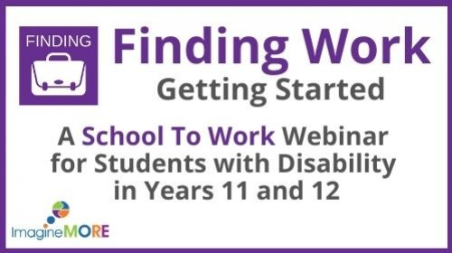 School to Work: Finding Work - Getting Started