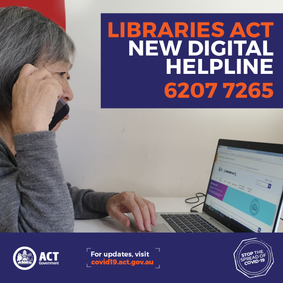 ACT Libraries - online services are available